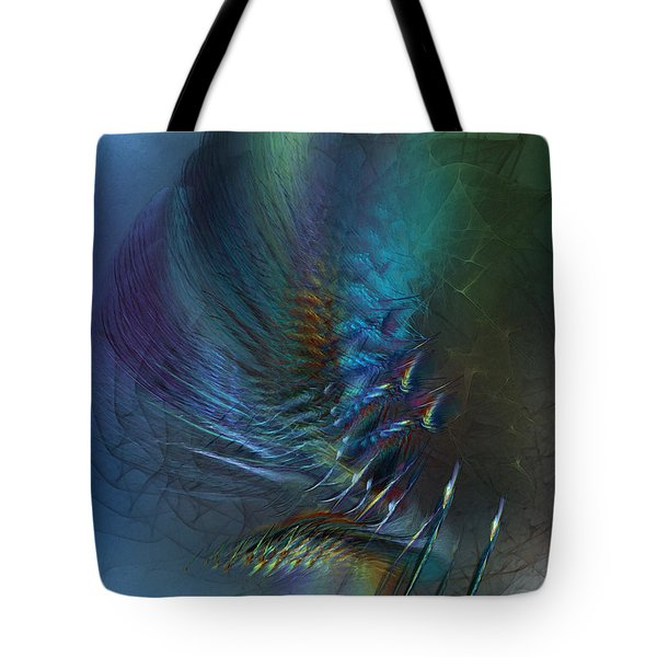 Dancing With The Wind-abstract Art Tote Bag
