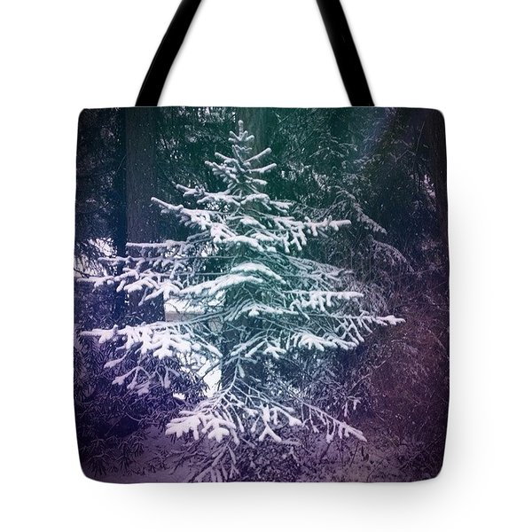 Dancing With Trees Tote Bag