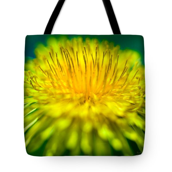 Dandelion Bloom  Tote Bag