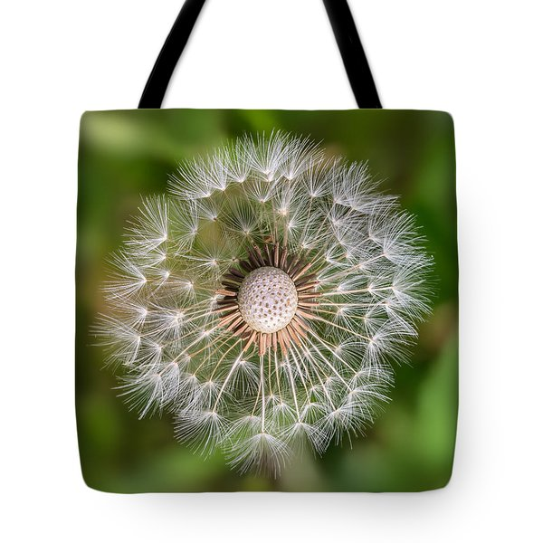 Tote Bag featuring the photograph Dandelion by Carsten Reisinger