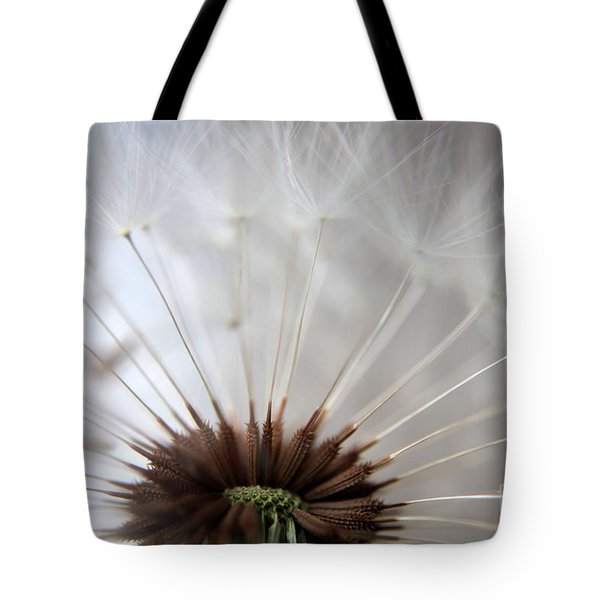 Dandelion Cross Section Tote Bag by Kenny Glotfelty