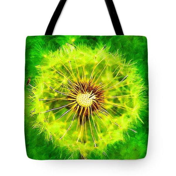 Dandelion Tote Bag by George Rossidis