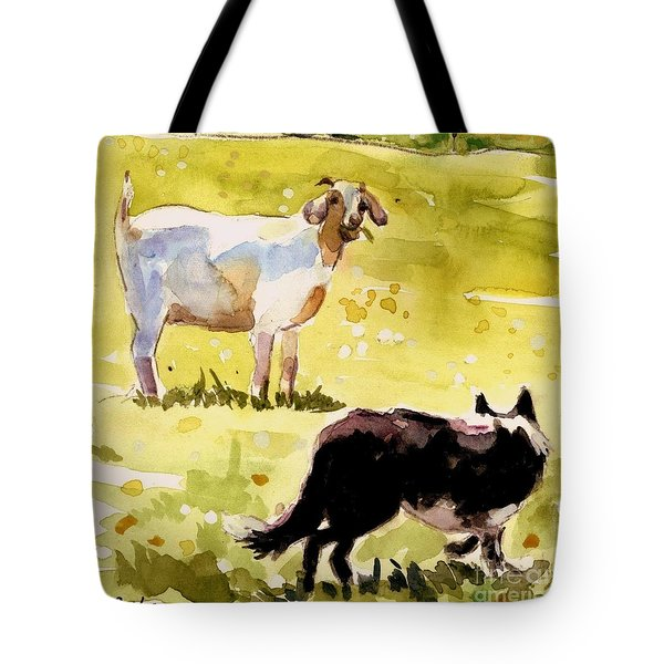 Dandelion Greens Tote Bag by Molly Poole
