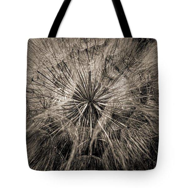 Tote Bag featuring the digital art Dandelion by Maciek Froncisz