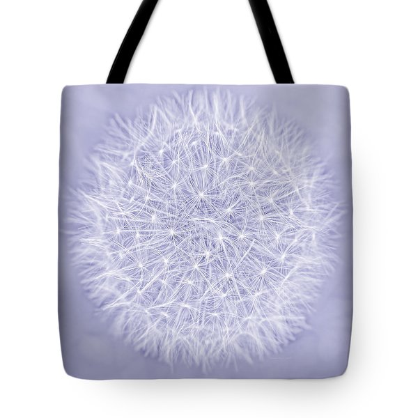 Dandelion Marco Abstract Lavender Tote Bag by Jennie Marie Schell