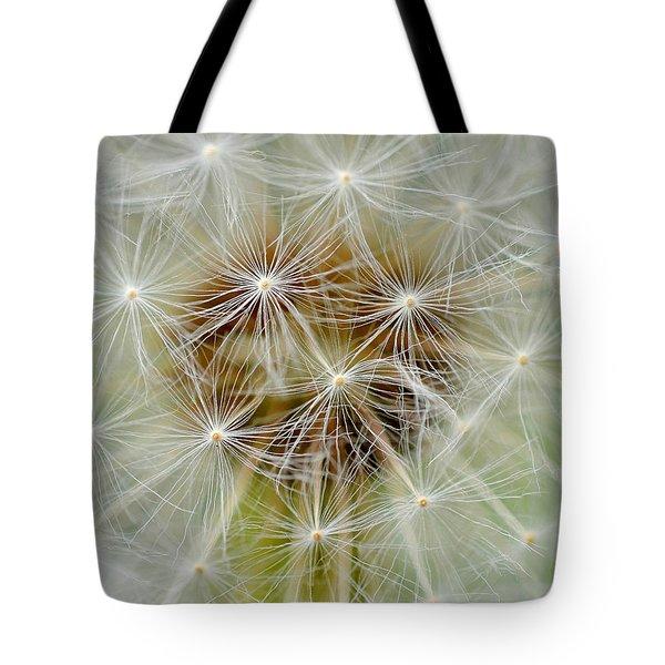 Dandelion Matrix Tote Bag