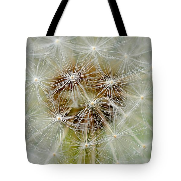 Dandelion Matrix Tote Bag
