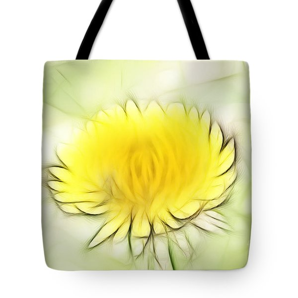 Dandelion Tote Bag by Michal Boubin