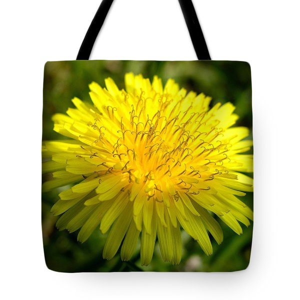 Tote Bag featuring the digital art Dandelion by Ron Harpham