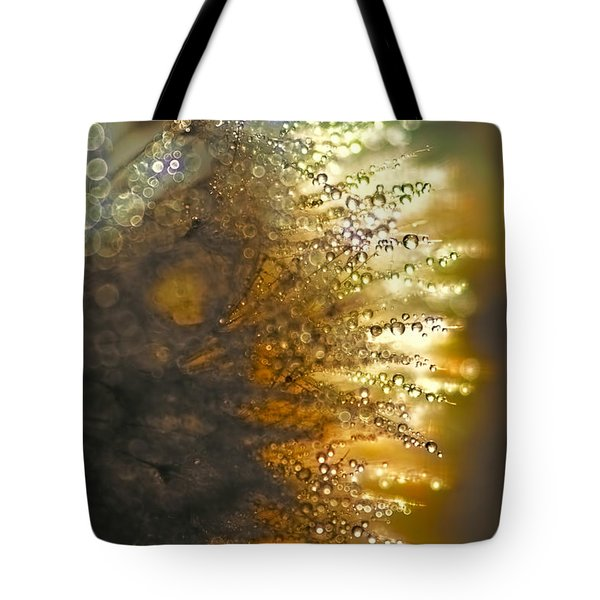 Dandelion Shine Tote Bag
