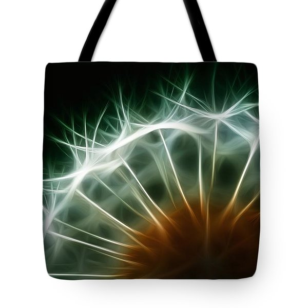 Dandelion Tote Bag by ISAW Gallery