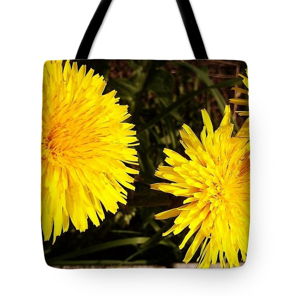 Tote Bag featuring the photograph Dandelion Weeds? by Martin Howard