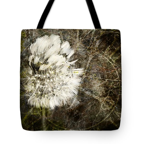 Dandelions Don't Care About The Time Tote Bag