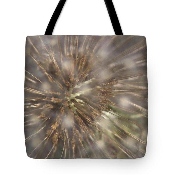 Dandillion Seed Head Tote Bag