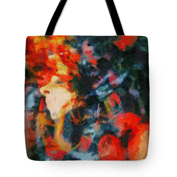 Tote Bag featuring the painting Dangerous Passion by Joe Misrasi