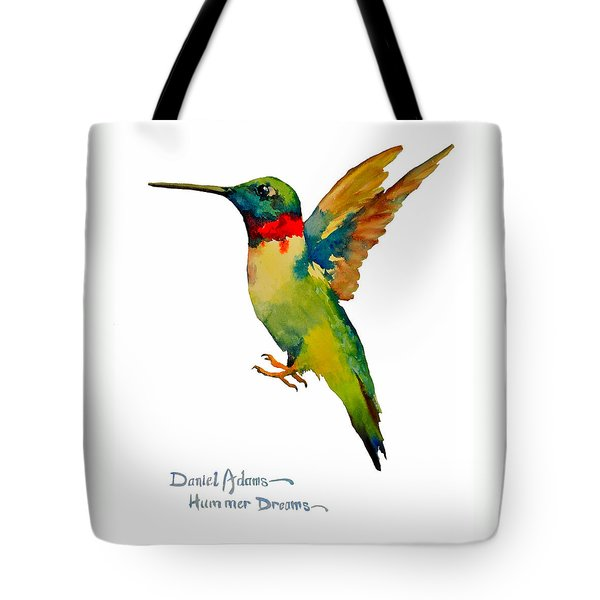Da166 Hummer Dreams Daniel Adams Tote Bag