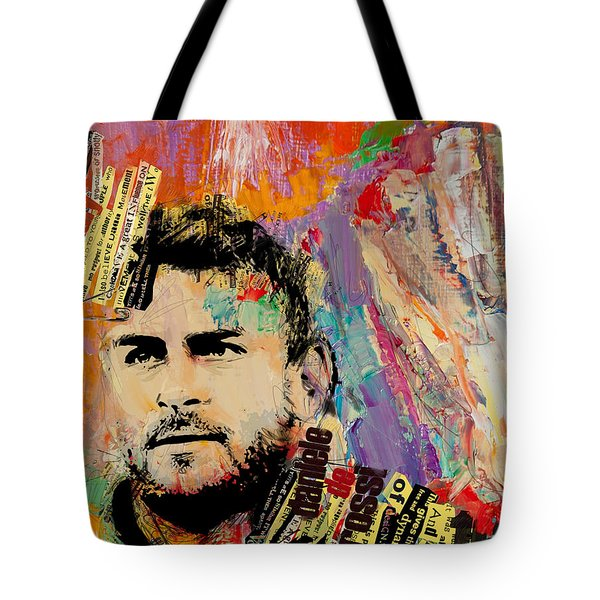 Daniele De Rossi Tote Bag