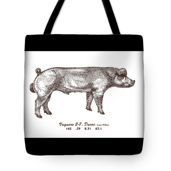 Danish Duroc Tote Bag