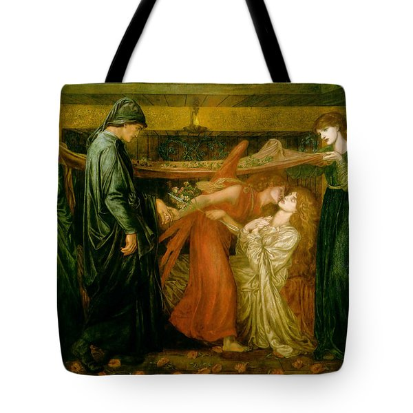 Dantes Dream At The Time Of The Death Of Beatrice 1856 Tote Bag by Philip Ralley