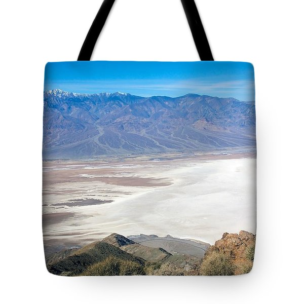 Tote Bag featuring the photograph Dante's View #3 by Stuart Litoff