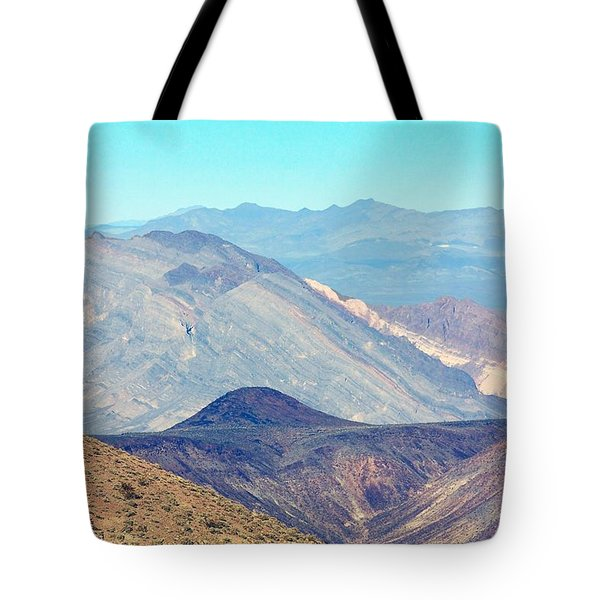 Tote Bag featuring the photograph Dante's View #5 by Stuart Litoff