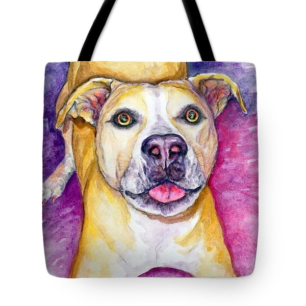 Tote Bag featuring the painting Daphne by Ashley Kujan
