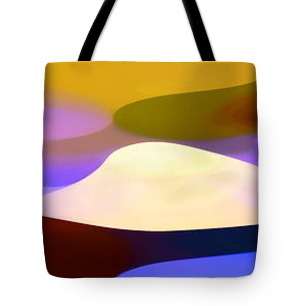 Dappled Light Panoramic 4 Tote Bag by Amy Vangsgard