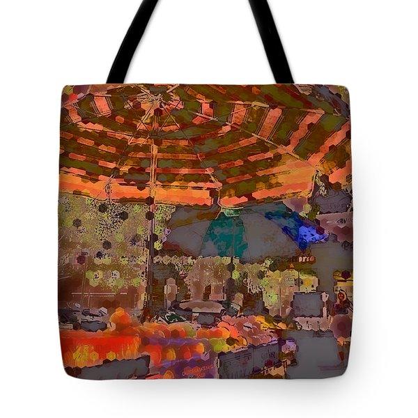 Dappled Sun Tote Bag by Miriam Danar