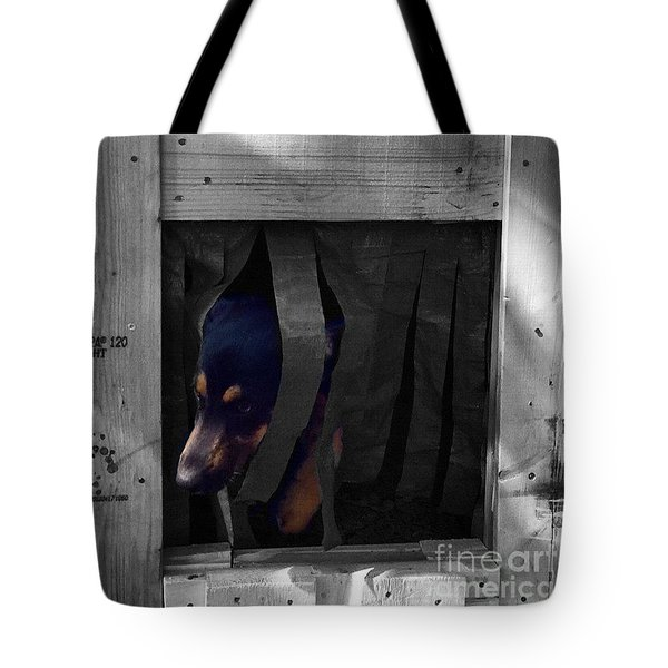 Darcy  #dog #dogs #darcy #gsd Tote Bag