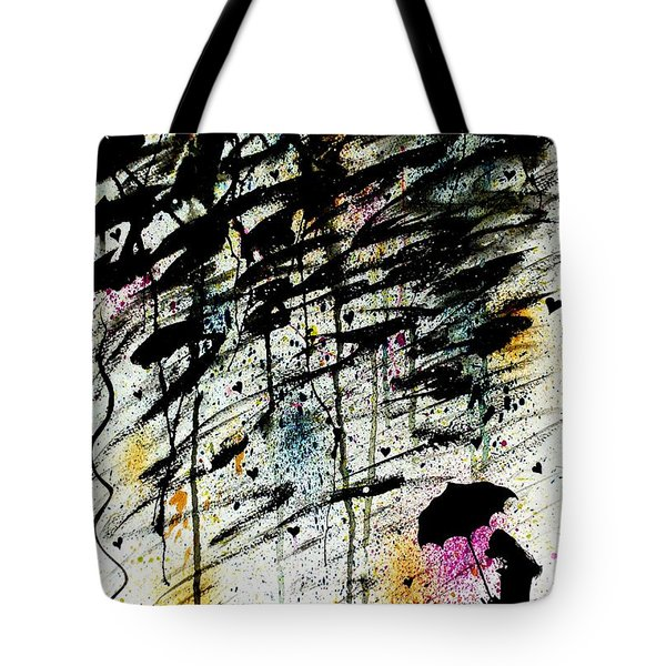 Dare 2 B Different Tote Bag by Oddball Art Co by Lizzy Love
