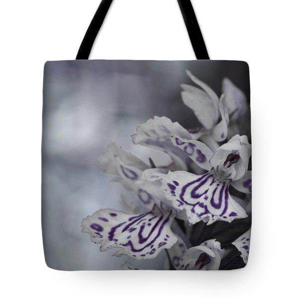 Dark Angel Of Flowers Tote Bag