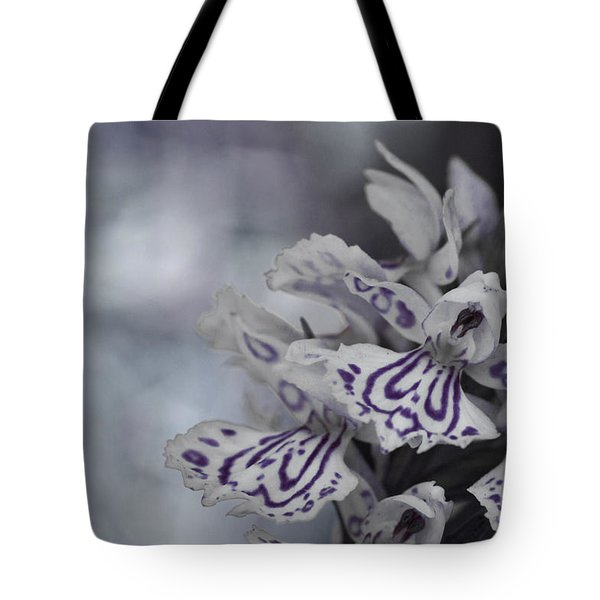 Dark Angel Of Flowers Tote Bag