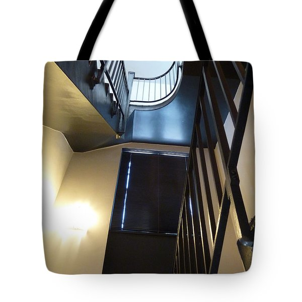 Tote Bag featuring the photograph Dark Before The Light by Newel Hunter