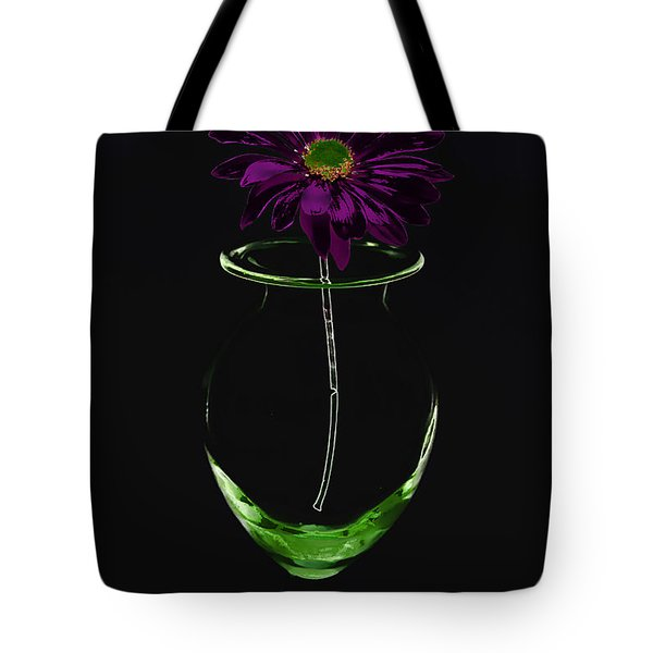 Dark Bloom Tote Bag by Swank Photography