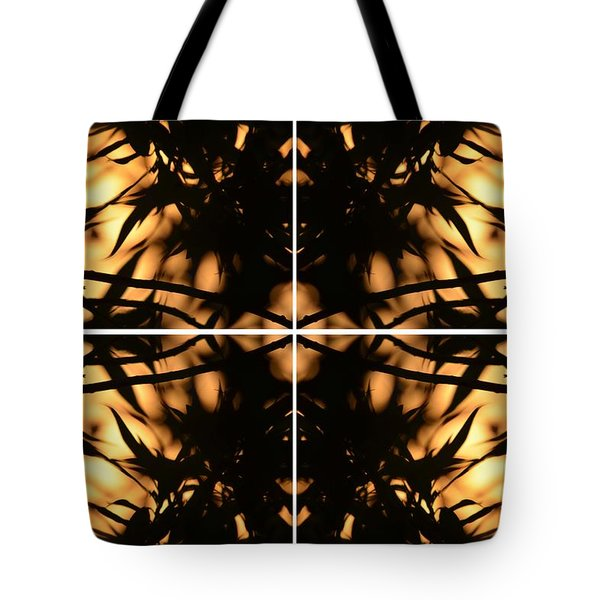 Dark Crossing Tote Bag