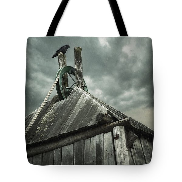 Dark Days Tote Bag by Amy Weiss