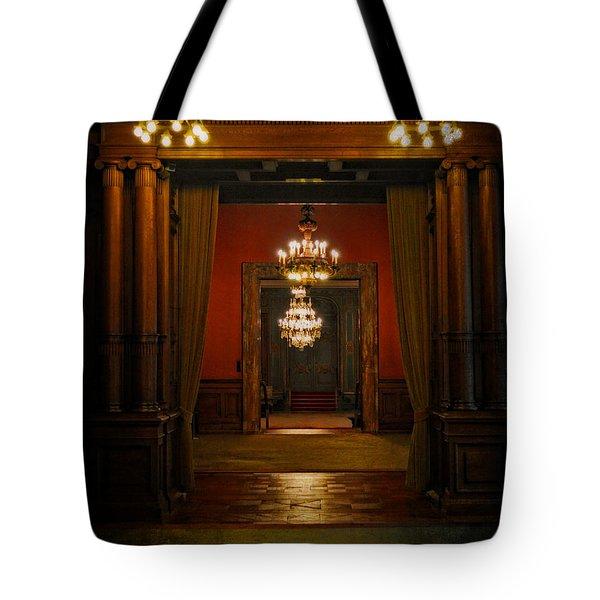 Dark Dreams Tote Bag by Mary Machare