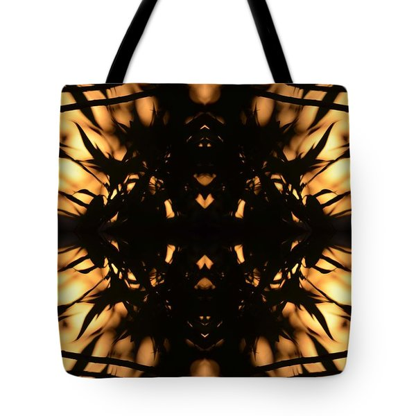 Dark Flame Of Nature Tote Bag