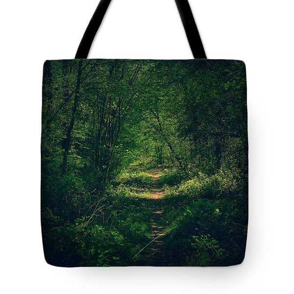 Dark Forest Tote Bag by Daniel Precht