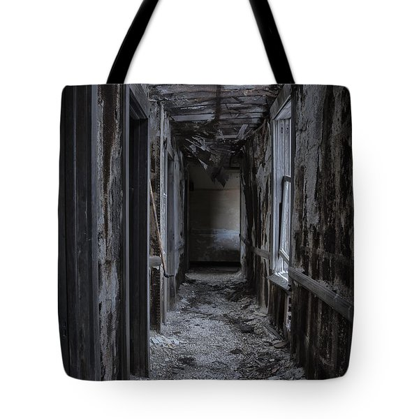 Dark Halls Tote Bag by Margie Hurwich