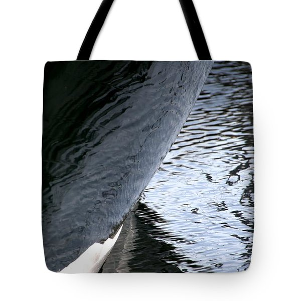 Dark Hull Tote Bag by Newel Hunter