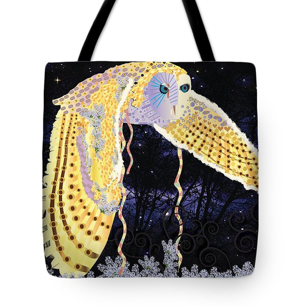 Dark Kindred Owl Tote Bag