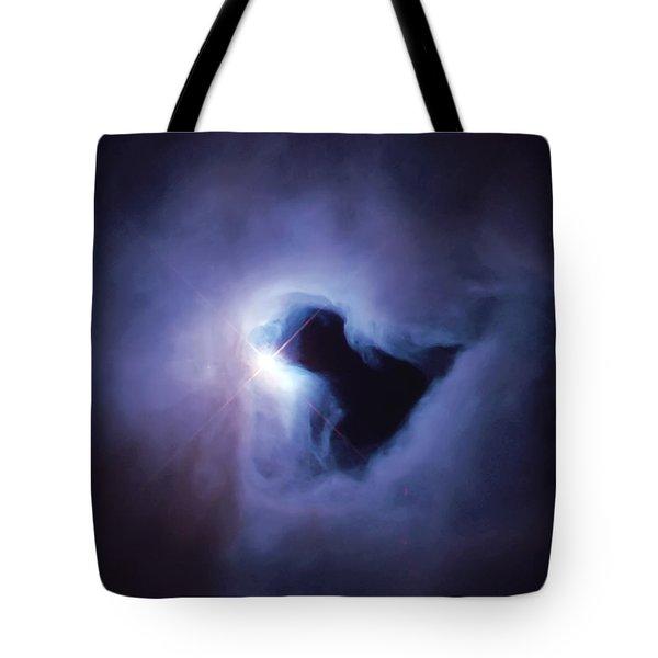 Dark Nebula Cloud  Tote Bag by Jennifer Rondinelli Reilly - Fine Art Photography