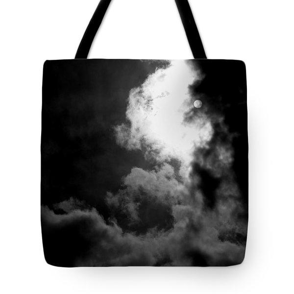 Dark Side Of The Sun Tote Bag by Vicki Spindler