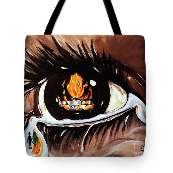 Dark Sorrow  Tote Bag by Jackie Carpenter