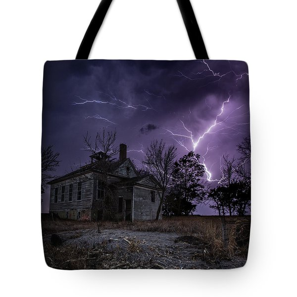Dark Stormy Place Tote Bag