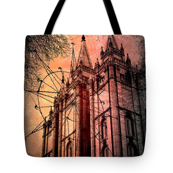 Tote Bag featuring the photograph Dark Temple by Jim Hill