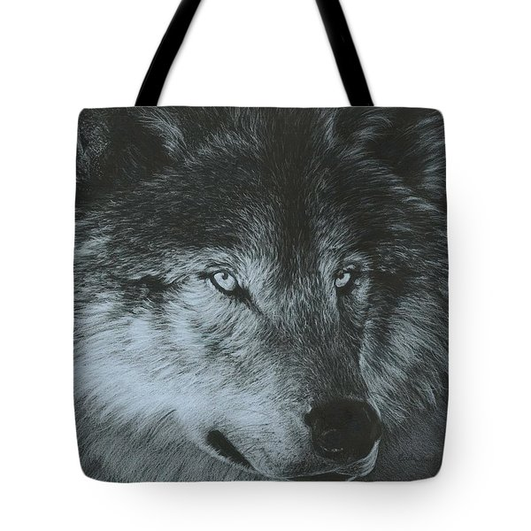 Dark Wolf Tote Bag