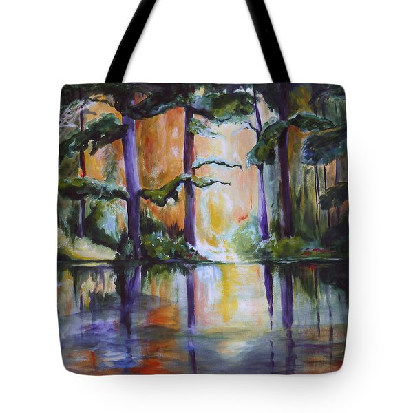 Dark Woods Tote Bag