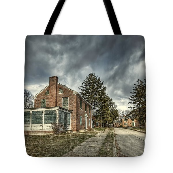 Darkened Days To Come Tote Bag
